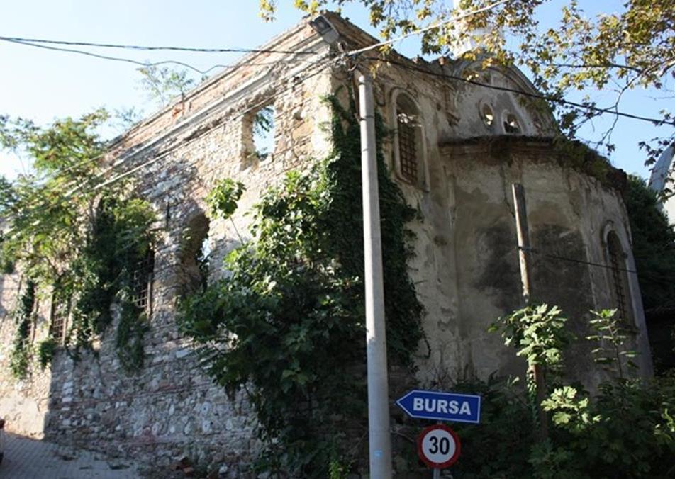 Aya Apostoloi Church Aydınpınar